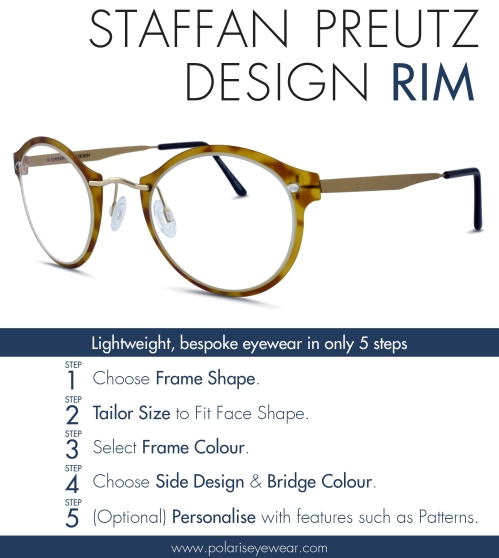 78b0ac42b3 Staffan Preutz Design holds the most innovative and daring collections from  Polaris. These lightweight yet strong frames offer complete flexibility